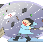 台風が来る場合の防災対策と注意点