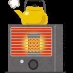 防災に役立つ暖房器具は