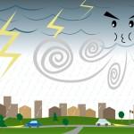 台風に備えておきたいアプリはコレだ!