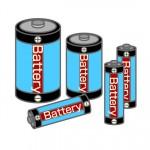 防災備蓄品に乾電池