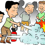家庭で参加する防災訓練