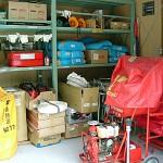 地域防災に大切な防災倉庫には何が入ってるの?