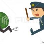 護身用に使用する警棒について