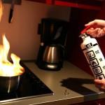 【見たことない!】最近の家庭用の消火器の威力が凄かった!