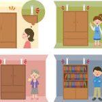 【防災対策】家具ストッパーで避難経路を確保!